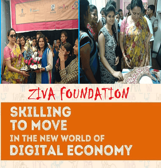 Ziva Foundation, Skill India, PMKVY, UPSDM, BSDM