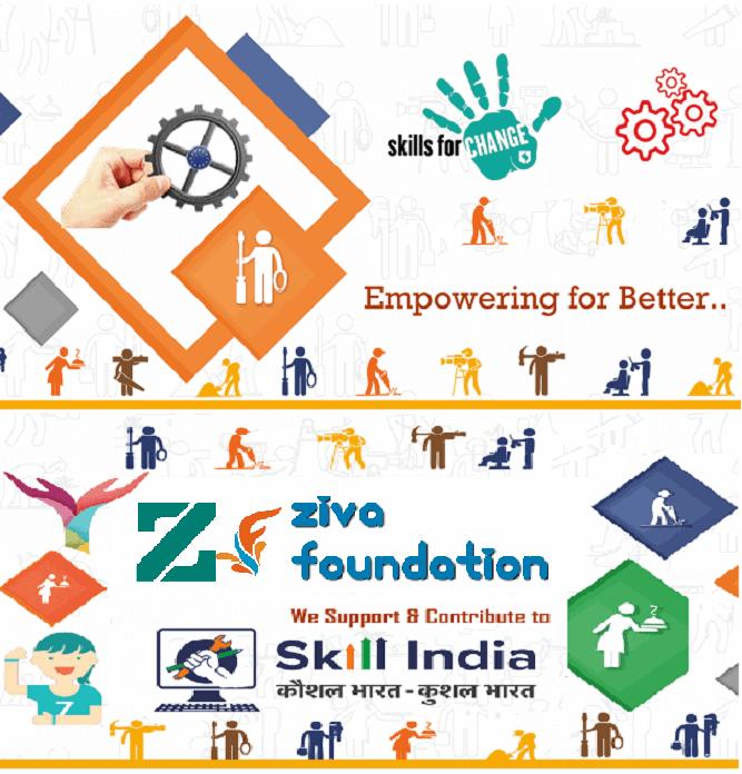 Ziva Foundation, Skill India, PMKVY, UPSDM, BSDM